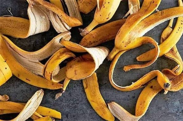 Как сделать для комнатных растений удобрение из банановой кожуры: